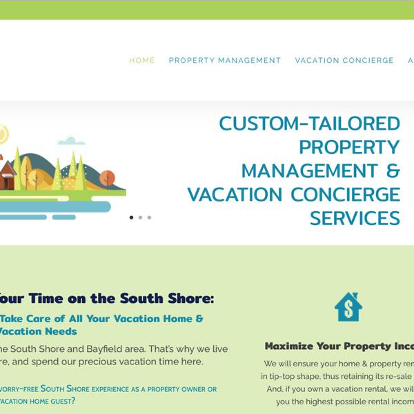 Bark Point Ventures Web Design