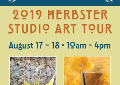 Herbster Studio Art Tour Brochure & Poster