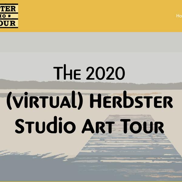 Herbster Studio Art Tour Virtual Tour Web Design