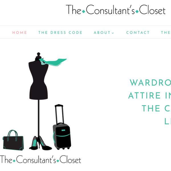 The Consultant's Closet Web Site Design